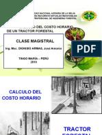 CALCULO DEL COSTO DE UN TRACTOR FORESTAL