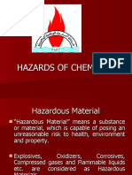 HAZARDS OF CHEMICALS