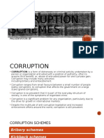 CORRUPTION SCHEMES PPT