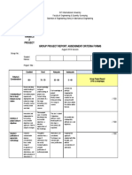 Project Report Rubric