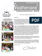 December 2010 / January 2011 Weathervane