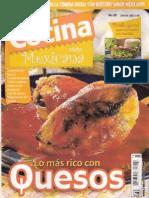 Cocina Practica Mexicana No 25 Los Mas Ricos Quesos