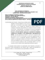 P. ELETRONICO 122/2010 INSUMOS DESCARTAVEIS USO LABORATORIAL