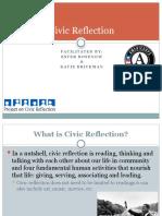 Civic Reflection