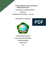 URGENSI PERENCANAAN ADMINISTRASI KURIKULUM DAN DESIGN PEMBELAJARAN BAGI GURU (Autosaved).docx