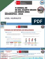 ECE 2018 - CUARTO DE PRIMARIA-AREA