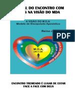 MANUAL DO ENCONTRO COM DEUS NA VISÃO DO MDA
