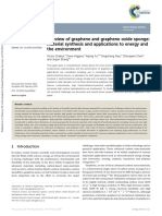 A review of graphene and graphene oxide sponge - material synthesis and applications to energy and the environment.pdf