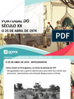 Powerpoint 25 abril a Areal