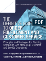 The Definition Guide to Order Fulfillment and Customer Service