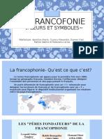 1 La francofonie