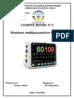TP Moniteur Multiparamètres
