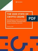 2020 Crypto Crime Report
