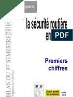 La Securite Routiere en France - Premiers Chiffres 29-07-10 Cle0ff3bc