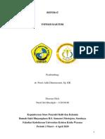 REFERAT INFEKSI BAKTERI PDF