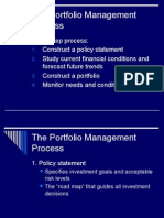 Intro to Portfolio Management