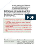 Blood Type Diet Chart 26.docx