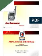 Introducción Análisis de sistemas
