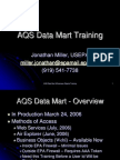Data Mart Training Handout