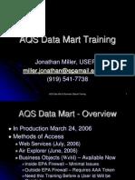 Data Mart Training Handout