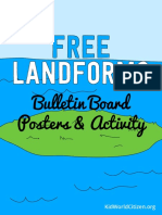FreeLandformsBulletinBoardPostersandMatchingActivity.pdf