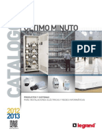 Catalogo Legrand Ultimo Minuto 2012-2013
