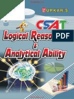 CSAT - Logical Reasoning & Analytical Ability by Dr. M.B.Lal & Ashok Gupta .pdf