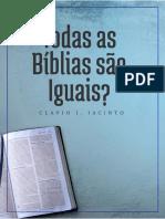 Todas Biblias São Iguais?