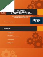 MODELO CONSTRUCTIVISTA DIPLOMADO LA PAZ