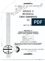 Apollo 11Tech Crew Debrief