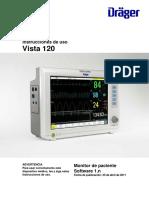 DRAGER VISTA 120 manual de usuario