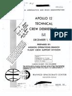 Apollo 12 Technical Crew Debriefing