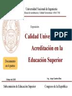 2005 Calidad Universitaria y Acreditacion -Completo