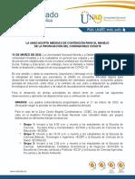 COMUNICADO A LA OPINIÓN PÚBLICA (1)