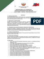 Bases de Convocatoria No. 04-2019-RED TARMA