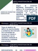 CONCEPTO INVESTIGACIÓN DE MERCADOS