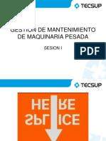 GESTION DEL MANTENIMIENTO DE LA MAQUINARIA PESADA
