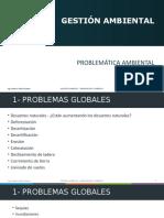 1- Gestión ambiental - Problematica Ambiental