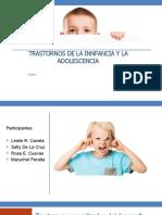 trastornos de la infancia y adolescencia psicopatologia II