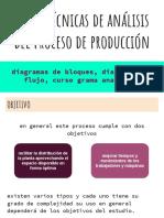 tecnicas de analisis del proceso de produccion