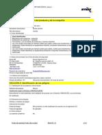 MSDS Aceite Dielectrico Nytro Izar I