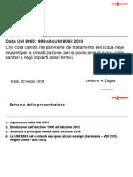 Raggia A. (2019) - UNI 8065 2019