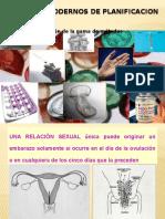 Charla Metodos de Planificacion Familiar Modernos.