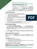 CONTRATO DE SERVICIOS Nº 004 - 2020 alquiler de local del instituto vial provincial