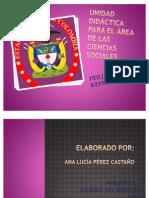 Unidad didáctica para la enseñanza de las Ciencias Sociales del grado 5°