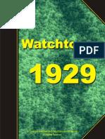 Watchtower 1929