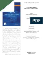 CURSO DE DIREITO PROCESSUAL ELEITORAL