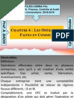 Chap 6 Les opérations faites en commun Env