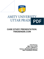 Case Study Itrat and Grp