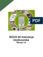 Instrukcja Onyx Boox 60